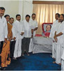 Tamilnadu MPs are paying their tributes to late Mr. Murasoli Maran's photo on his 76th Birthday at DMK Parliamentary office. Central ministers Mr. D. Napoleon, Mr. A. Rasa, Mr. Palani Manickam, and many others paid their due respects to late Mr. Murasoli Maran