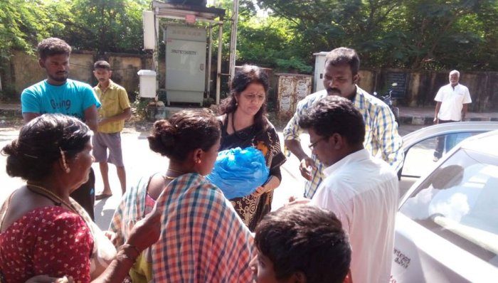 Jeevan Foundation - Flood relief Activity 30-12-2015 @